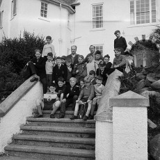 Ty Gwyn being used as a residential school in the early 1960s