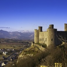 One of the best known castles in North Wales