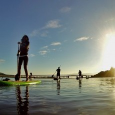 Stand Up Paddle Boarding in Barmouth