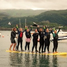 Stand-up paddle boarding in Barmouth - tick it off your bucket list!