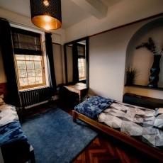 Renn's Room - a twin room on the ground floor.