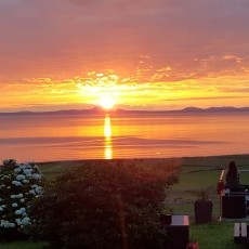 The sunsets at Ty Gwyn are truly unbeatable!