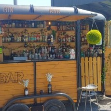 The Tow Bar offers a whole range of specialist gins