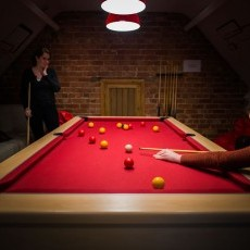 Pool in the Games Room